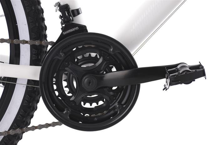 "26"" Ladies' Mountain Bike Hardtail ""Larrikin"" White 21 Speed Aluminium New 242M"