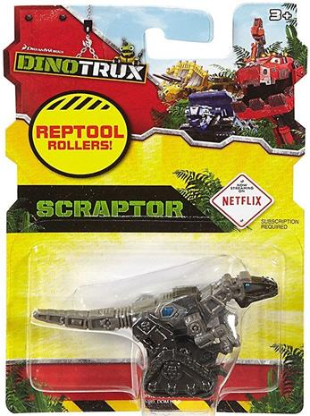 DinoTrux Scraptor reptool roller