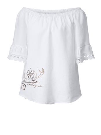 Carmen-pusero Hangowear valkoinen61596/90X