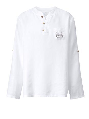 Pitkähihainen paita Hangowear valkoinen78399/90X