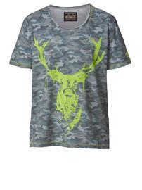 T-paita Hangowear sininen/keltainen84782/80X