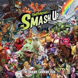 Smash Up: The Bigger Geekier Box Lautapeli
