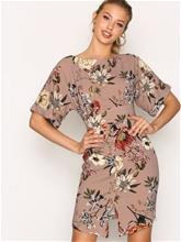 Closet Closet Kimono Wiggle Dress Skater-mekot Multi