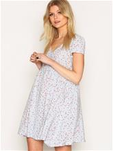 Denim & Supply Ralph Lauren Button Front Short Sleeve Dress Väljät mekot Floral