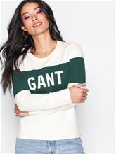 GANT OP2. Gant Logo Crew Neuleet Munankuori