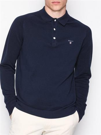 Gant Cotton Pique Rugger Pikeepaidat Blue