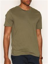 Selected Homme Slhtheperfect Ss O-Neck Tee B Noos T-paidat ja topit Vaaleanruskea
