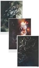 Linkin Park Kunstdruck-Set Juliste monivärinen