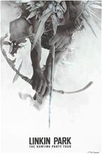 Linkin Park Bow Lithograph - Kunstdruck Taideprintti monivärinen