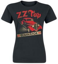 ZZ Top Eliminator Naisten T-paita musta