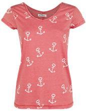 Urban Surface Anchors Naisten T-paita punainen