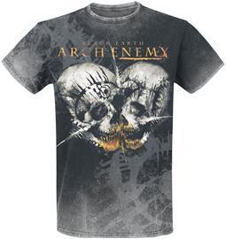 Arch Enemy Black Earth T-paita tummanharmaa
