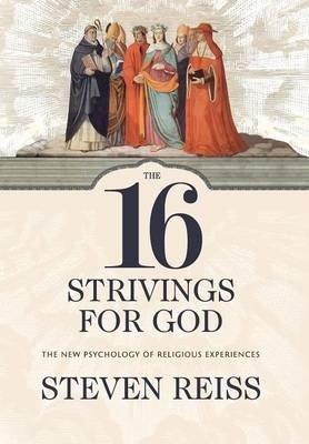 The 16 Strivings for God - The New Psychology of Religious Experiences (Steven Reiss), kirja