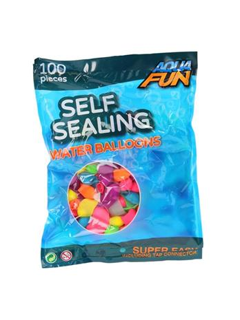 Aqua Fun Selfclosing Water Balloons - 100 pieces