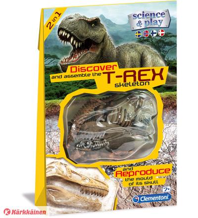 Clementoni dino fossil T-Rex- muotti