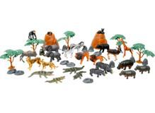 ANIMAL-eläinämpäri 45 osaa, safari