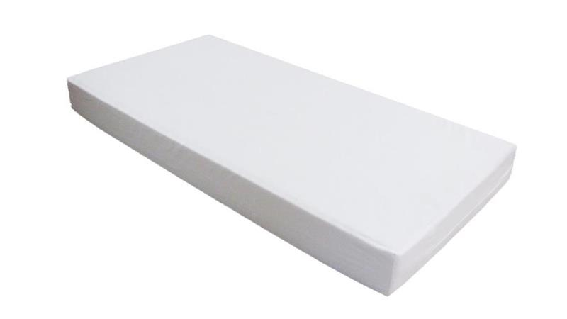 Hoppekids - Linen Mattress (7x60x120) White