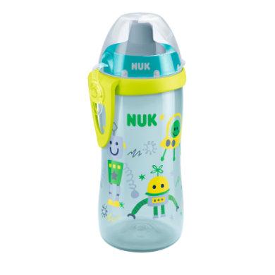 NUK Flexi Cup 300 ml Juomapullo, robotti