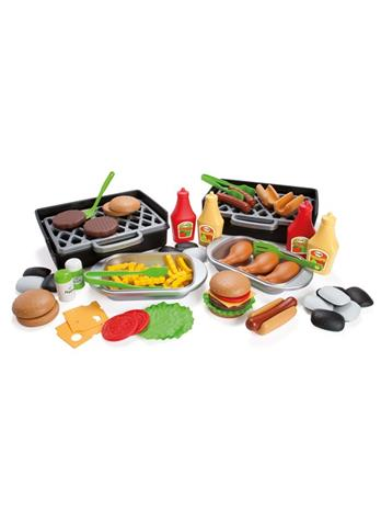 Dantoy MY LITTLE BBQ DELUXE 79 PCS. IN BROWN BOX