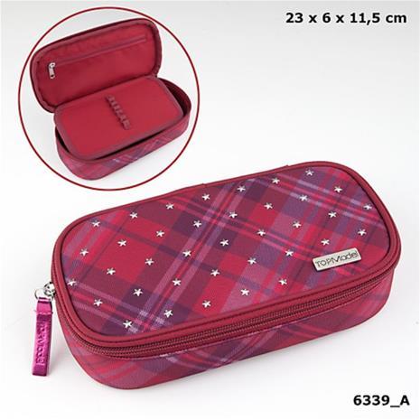 TOP Model - Pencil Case - Stars & Stars - Red