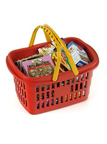 Theo Klein Shopping Basket - Filled