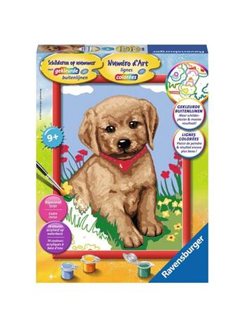 Ravensburger Painting by numbers-little friend