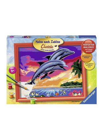 Ravensburger Painting by numbers world of dolphins