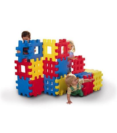 Little Tikes - Big Waffle Blocks, Legot ja muut rakennussarjat