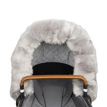 Fur Collar, Sufflettpäls, Grey