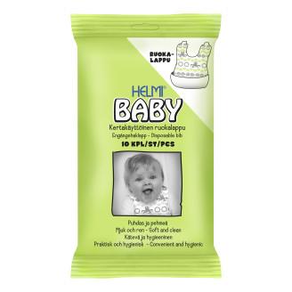Helmi Baby Kertakäyttöinen ruokalappu 10 kpl