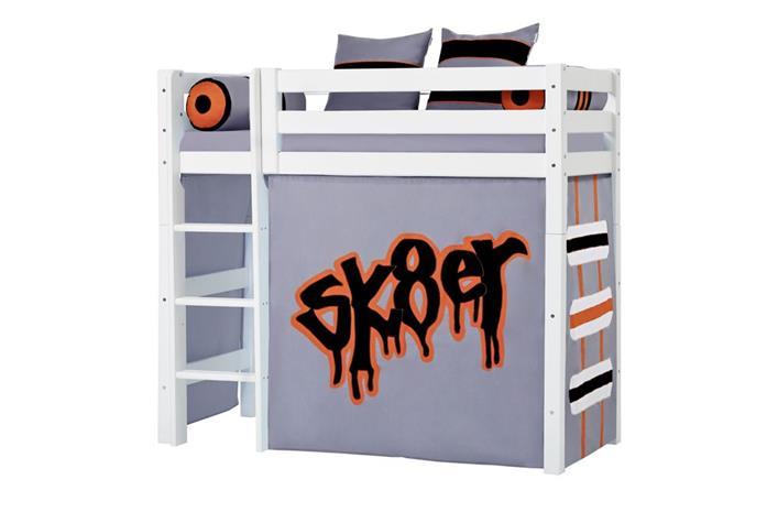 Hoppekids - Play Curtain Mid-High Bed 70x160 cm