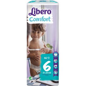 Libero Teippivaippa 46 kpl Comfort 6 13-20 kg