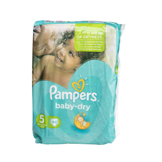 Pampers Teippivaippa 44kpl Baby Dry5 11-16kg
