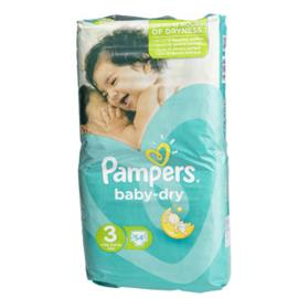 Pampers Teippivaippa 54kpl Baby Dry3 6-10kg