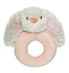 Teddykompaniet Lolli Bunnies helistin vaaleanharmaa