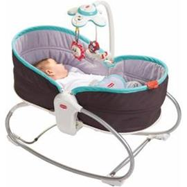 Tiny Love Cozy Rocker Napper keinu Harmaa-Turkoosi