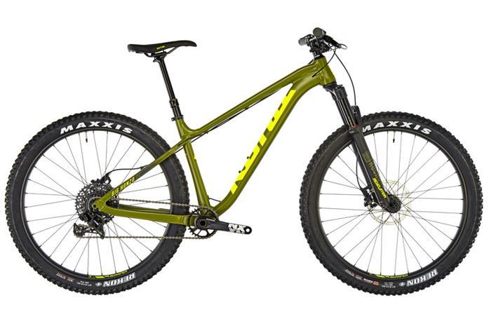 Kona Big Honzo DL etujousitettu maastopyörä , oliivi