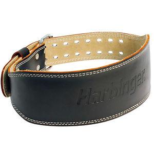 """Harbinger 4"""" painonnostovyö musta nahka"""
