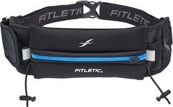 FITLETIC - Juoksuvyö + pieni laukku, geelipidike ja numerolappupidike Sininen