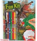 Dino World Värityskirja & tussit