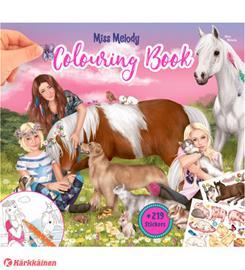 Miss Melody Värityskirja, eläimet