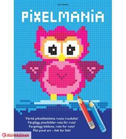 Pixelmania: Pöllö värityskirja
