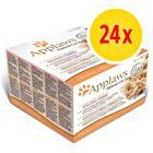 Sekoitettu säästöpakkaus: Applaws-purkkilajitelma 24 x 70 g - Chicken Selection