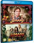Jumanji + Jumanji: Welcome to the Jungle (2017, Blu-Ray), elokuva