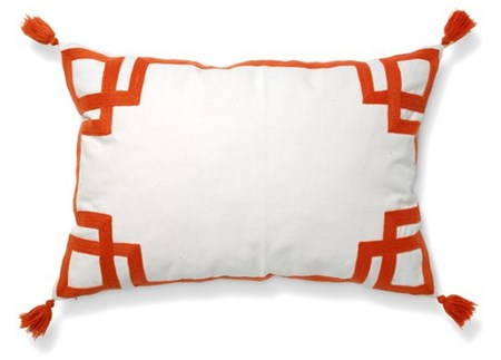 Classic collection Apollo Tyyny - 2-pack, white/burnt orange