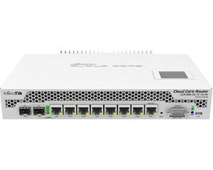 Mikrotik CCR1009-7G-1C-1S+PC, reititin