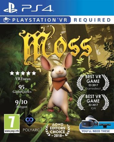 Moss, PS4 VR -peli