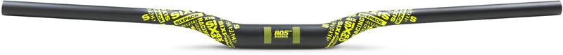 Sixpack Millenium805 Carbon Ohjaustanko Ø35mm , keltainen/musta