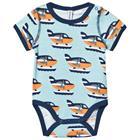 Sea Plane Baby body50/56 cm