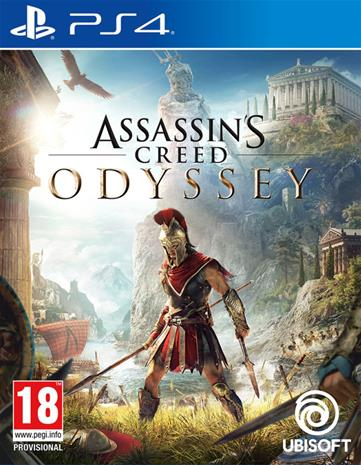 Assassin's Creed: Odyssey, PS4-peli